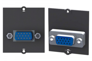 BACHMANN moduł audio/video 1 VGA czarny